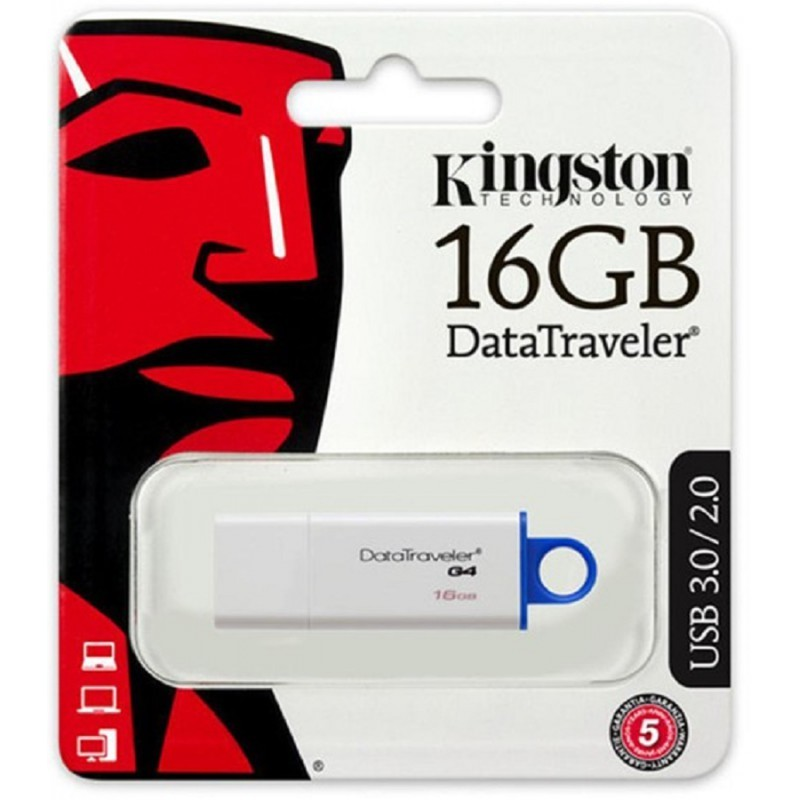 PENDRIVE KINGSTON DATATRAVELER G4 16GB 3.0