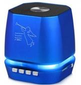 ALTAVOZ BLUETOOTH ALTA CALIDAD PORTATIL AZUL T2306A,RADIO FM MP3,ETC..
