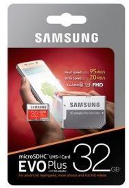 TARJETA  MICRO SD 32GB SAMSUNG EVO+ CL10 + ADAPT SD