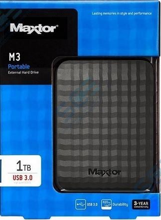 HDD SEAGATE EXTERNO 2.5 1TB USB3.0 MAXTOR M3 NEGRO