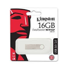 PENDRIVE KINGSTON DATA TRAVELER SE9 G2 16GB USB 3.0 PLATA