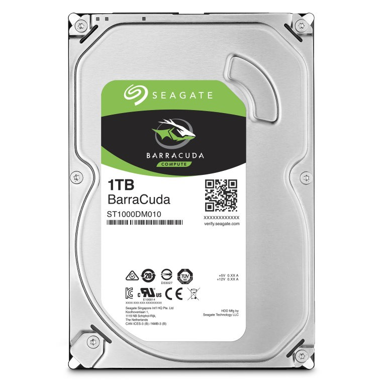 disco duro Seagate Barracuda 1000GB Serial ATA III